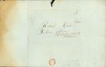 Envelope addressed to Robert Miller, Esq.