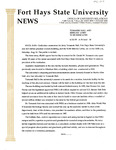 Tomanek Hall: Press release, by the Office of University Relations, August 10, 1995 by FHSU Office of University Relations