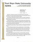 Tomanek Hall: Press release, from the Office of University Relations, August 10, 1995