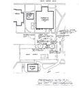 Tomanek Hall: Proposed site plan for the groundbreaking ceremony