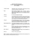 Tomanek Hall: Agenda, groundbreaking ceremony, May 7, 1993