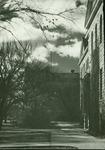 Picken Hall looking towards Sheridan Coliseum