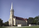 St. Catherine Catholic Church and rectory by Mitch Weber