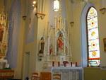 St. Catherine Catholic Church and rectory by Patty Nicholas