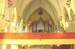 Choir loft at the St. Catherine Catholic Church by Patty Nicholas