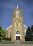 Holy Cross Catholic Church by Mitch Weber