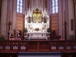 Sanctuary of the Holy Cross Catholic Church by Patty Nicholas