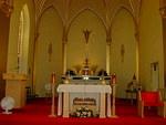 Sanctuary of the St. Anthony Catholic Church by Patty Nicholas