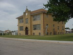 Parochial school next to the St. Anthony Catholic Church by Patty Nicholas