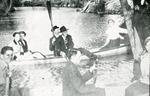 Boating on Big Creek by Lyman Dwight Wooster